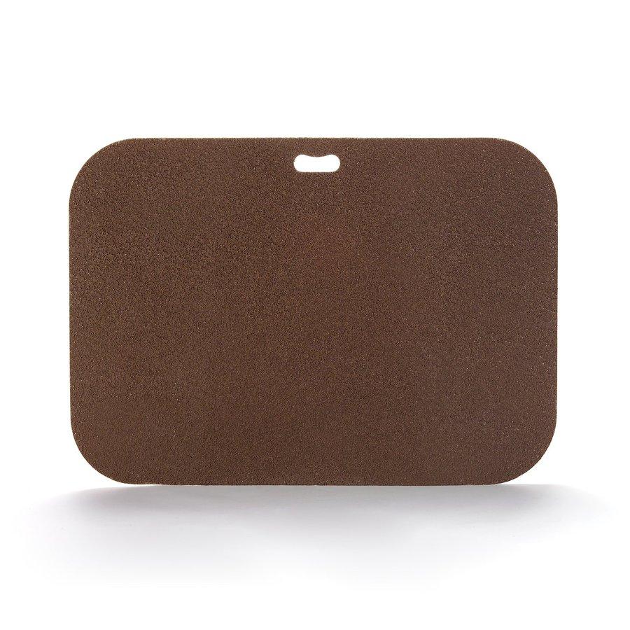 "The ""Original"" Grill Pad Fiber Cement Rectangle Earthtone Brown Grill Mat"