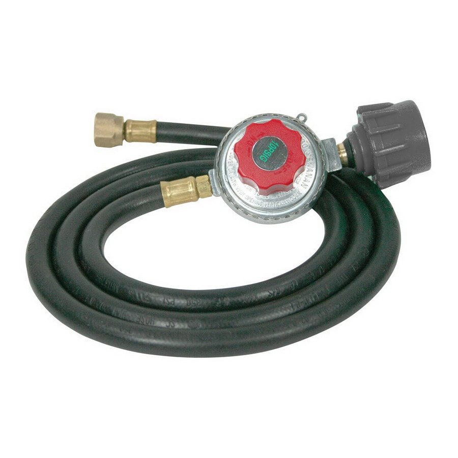 shop buffalo tools 60 in l low pressure propane tank regulator with hose at. Black Bedroom Furniture Sets. Home Design Ideas