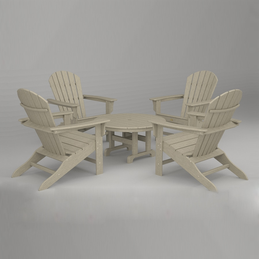 Shop Trex Outdoor Furniture Cape Cod 5 Piece Plastic Patio