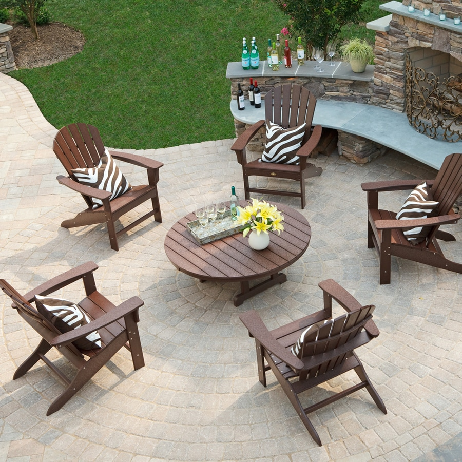 Shop Trex Outdoor Furniture Cape Cod 6 Piece Plastic Patio