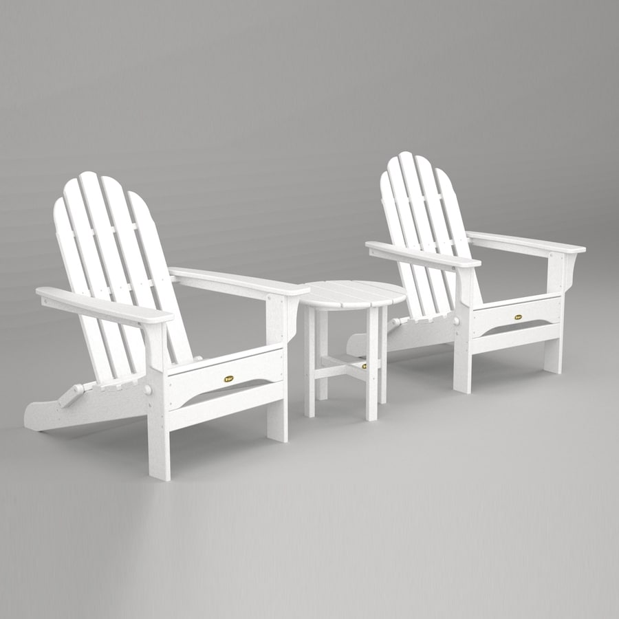 Shop Trex Outdoor Furniture Cape Cod 3 Piece Plastic Patio