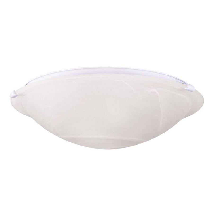 Livex Lighting Oasis 24.5-in W White Ceiling Flush Mount Light