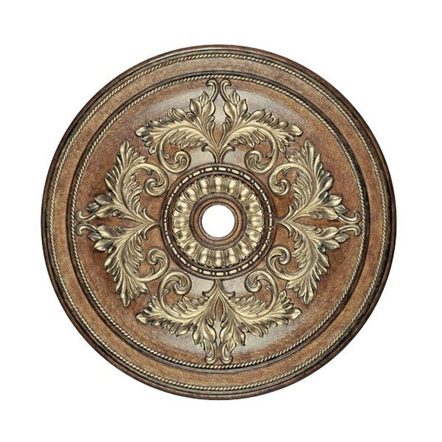 Shop Livex Lighting Venetian Patina Ceiling Medallion at ...