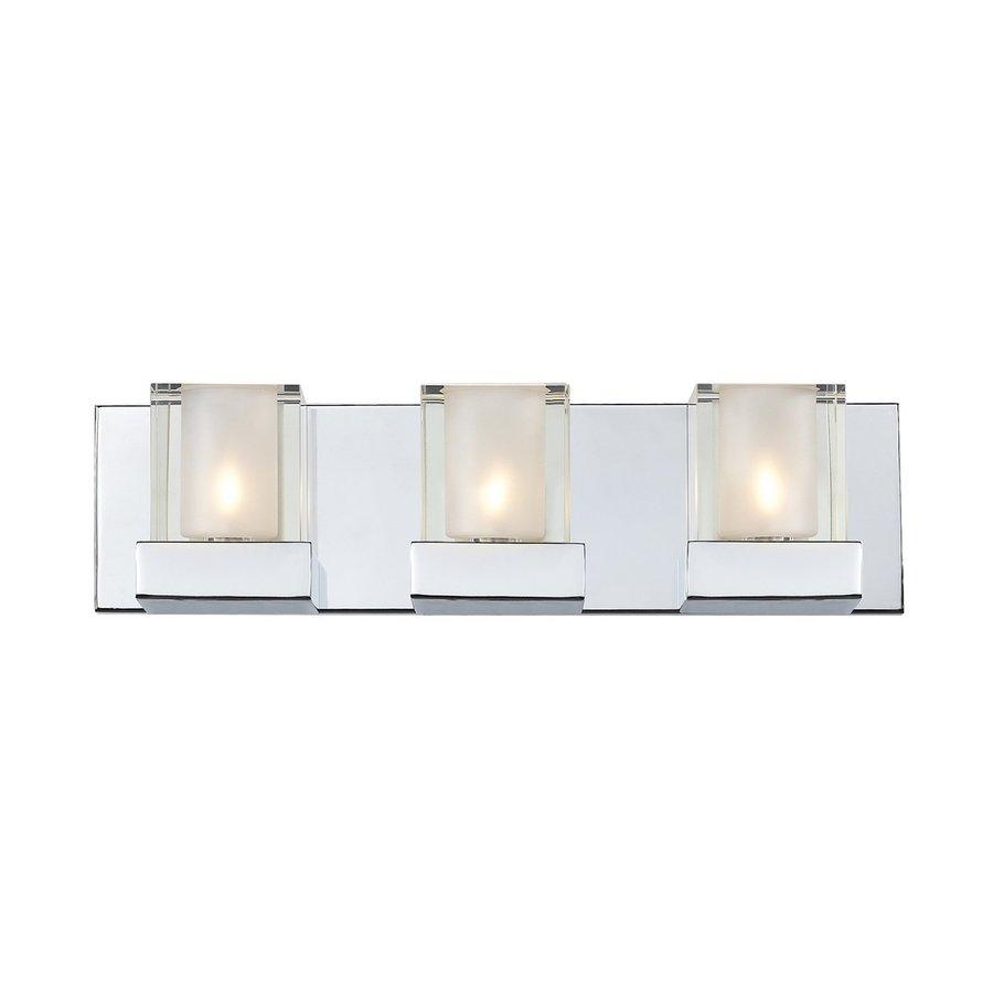 Z-Lite 3-Light Haan Chrome Bathroom Vanity Light