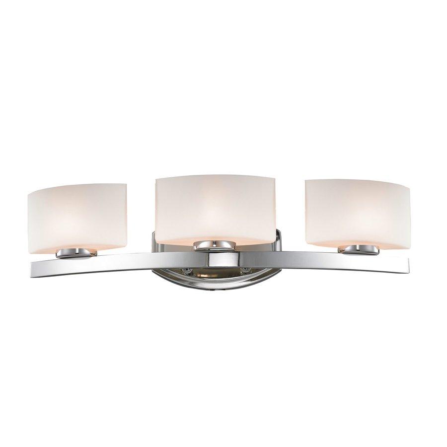 Z-Lite 3-Light Cetynia Chrome Bathroom Vanity Light