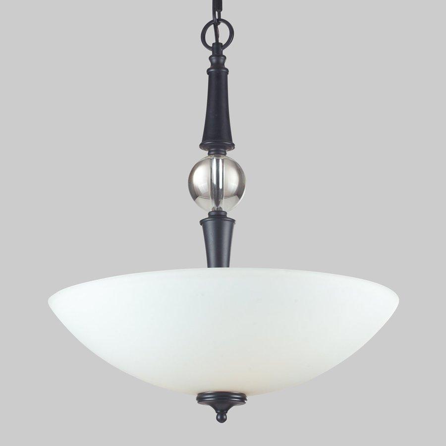 Z-Lite Harmony 19.63-in Matte Black Single Bowl Pendant