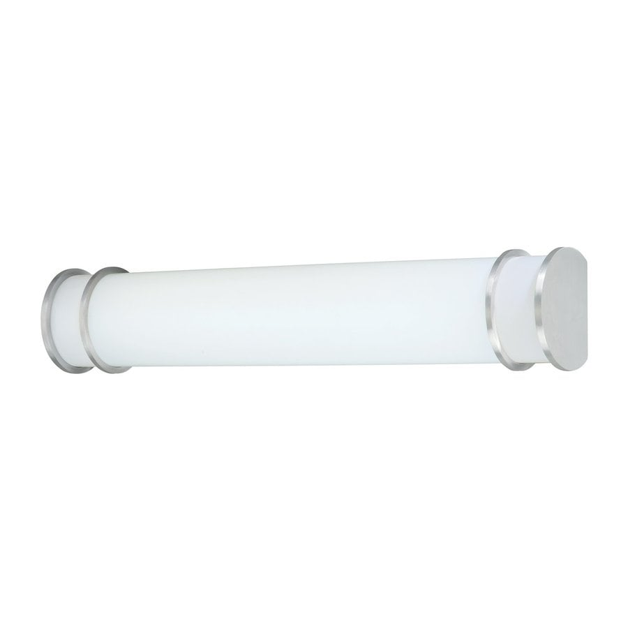 Shop Thomas Lighting 1-Light Parallel Brushed Nickel LED Bathroom Vanity Light at Lowes.com