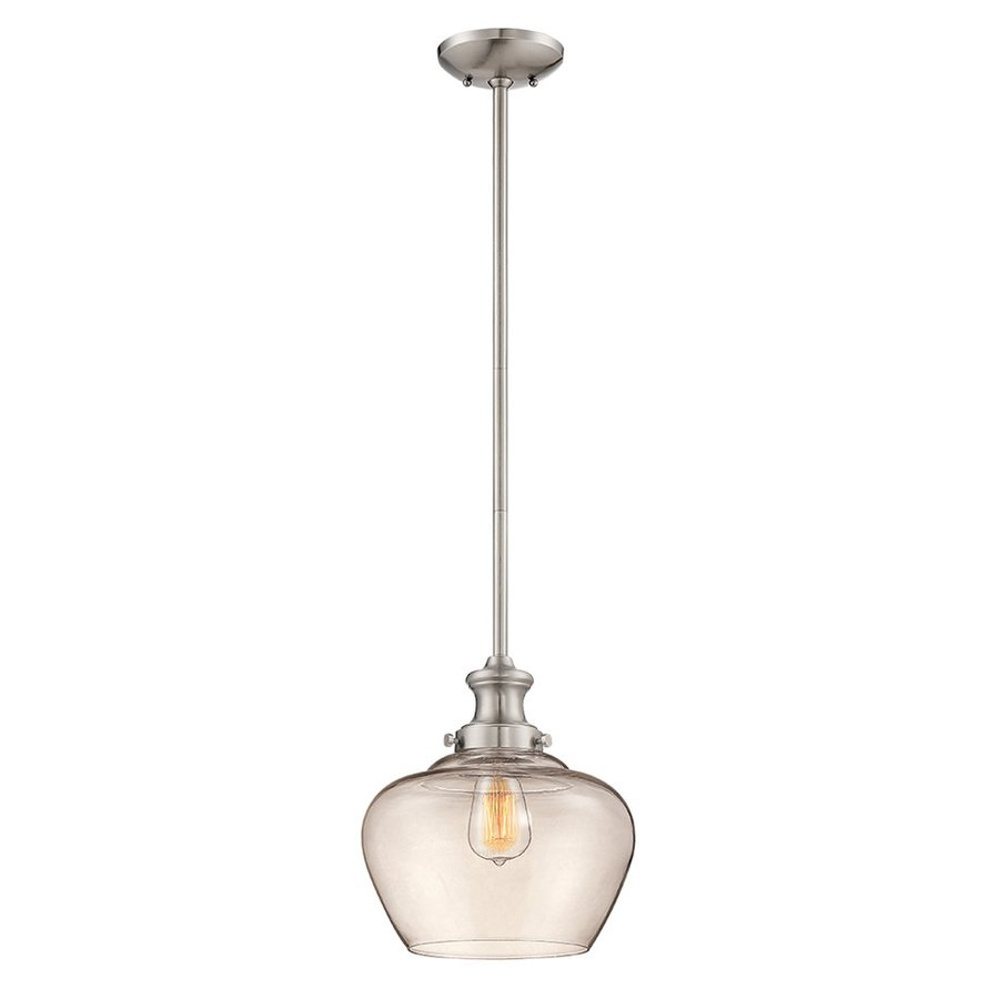 Shop Millennium Lighting 11-in Nickel Industrial Mini