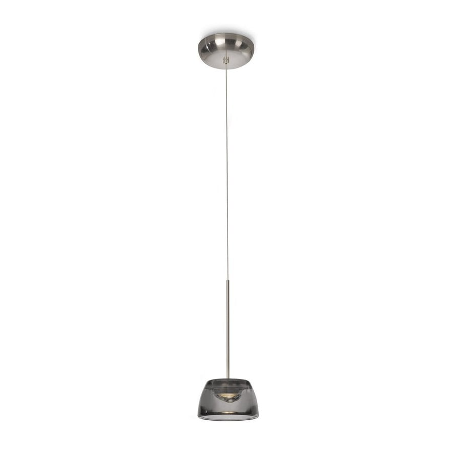 Philips Clairo 5.5-in Nickel Mini Tinted Glass Dome Pendant