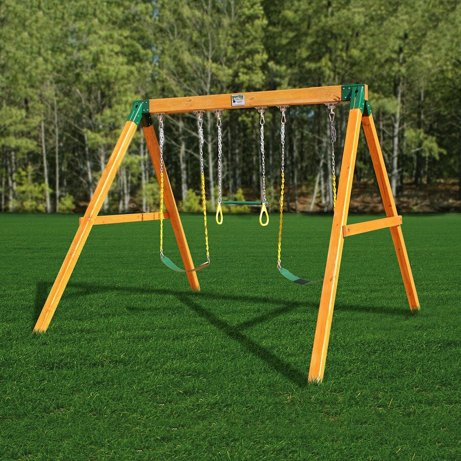 Shop Gorilla Playsets Free Standing Residential Wood