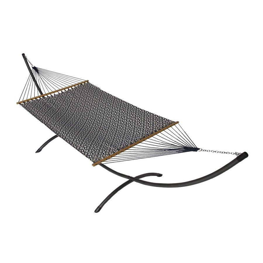 Phat Tommy Outdoor Oasis Luxe Indigo Fabric Hammock