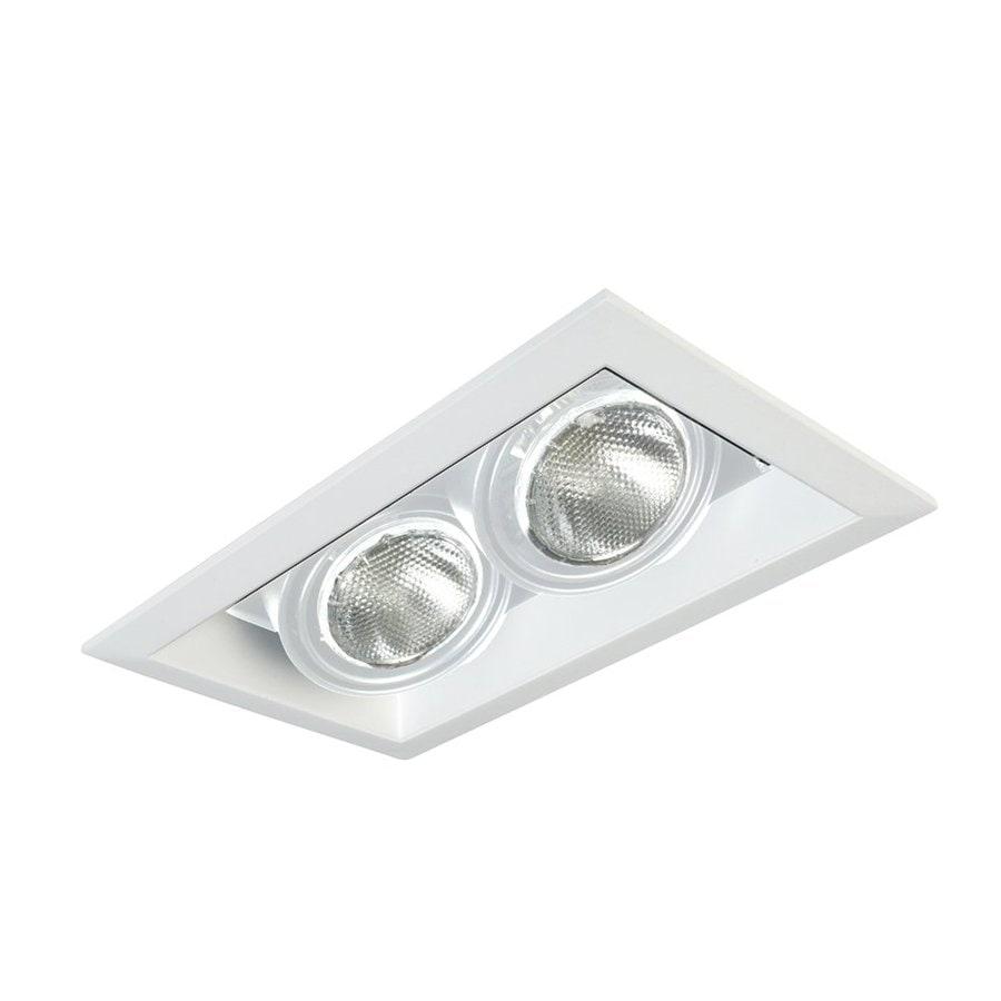 Eurofase White Remodel Construction Recessed Light Kit