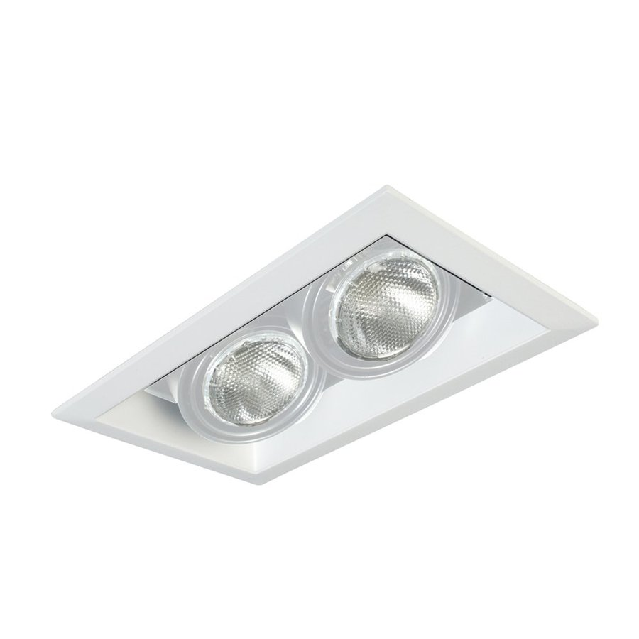 Eurofase White Standard Remodel and New Construction Recessed Light Kit