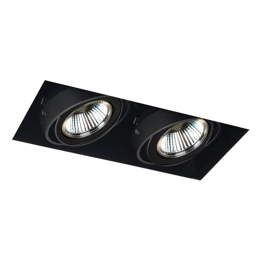 Recessed Lighting Kits For Remodel : Eurofase black remodel construction recessed light