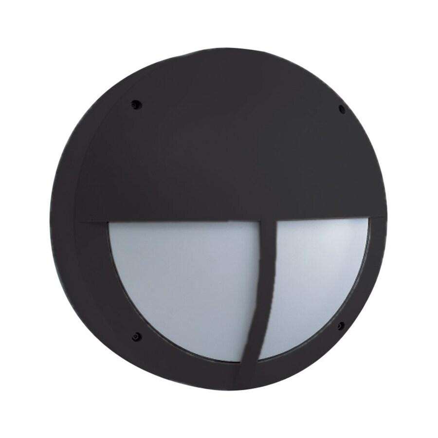Eurofase 14.5-in H Black Outdoor Wall Light