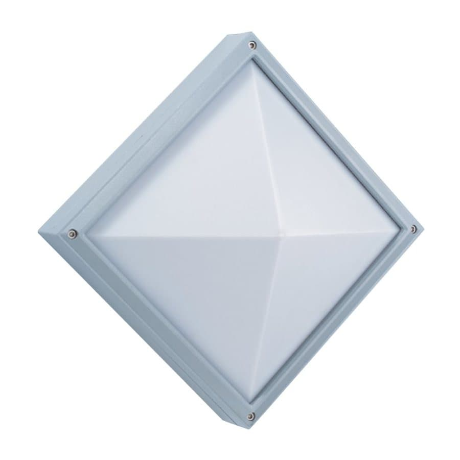 Eurofase 10.62-in H Grey Outdoor Wall Light
