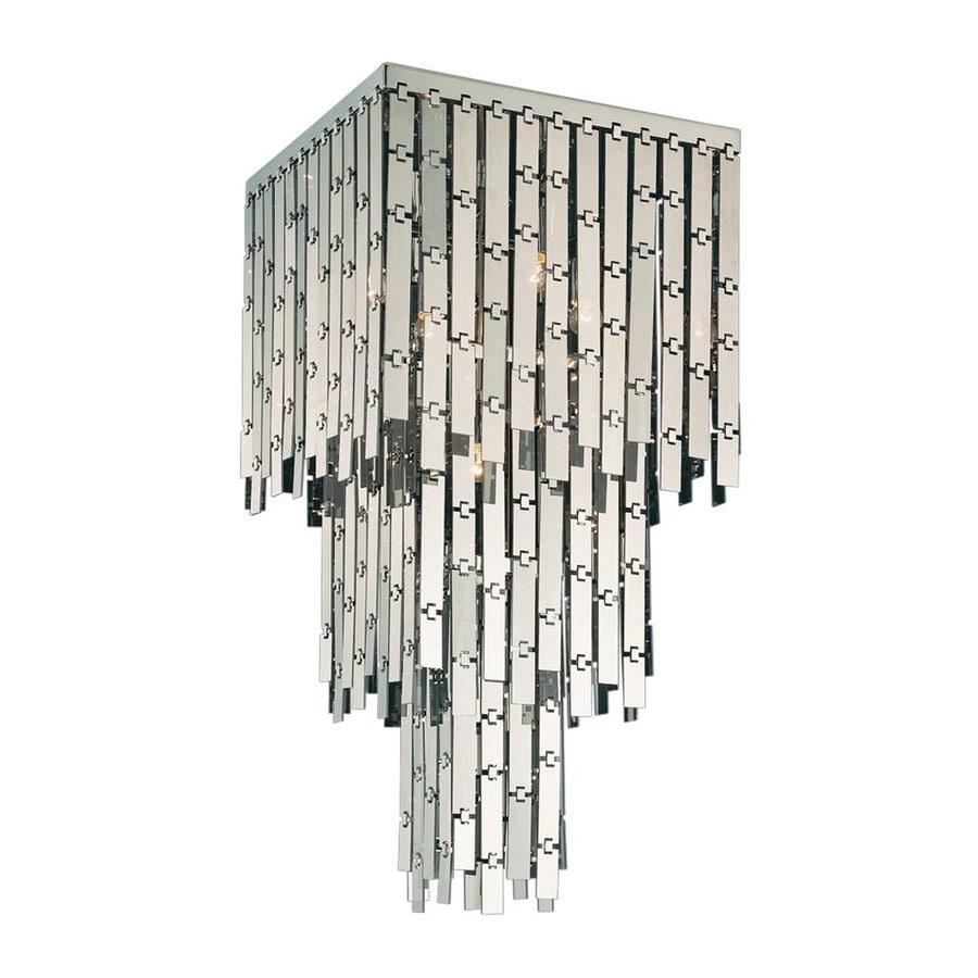 Eurofase Sensation 19-in W Chrome Ceiling Flush Mount Light