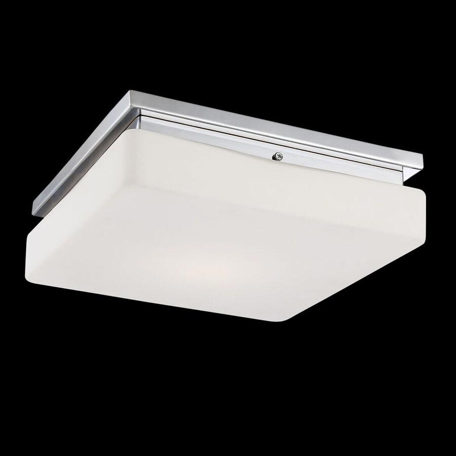 Eurofase Ellsworth 11.5-in W Chrome LED Ceiling Flush Mount Light