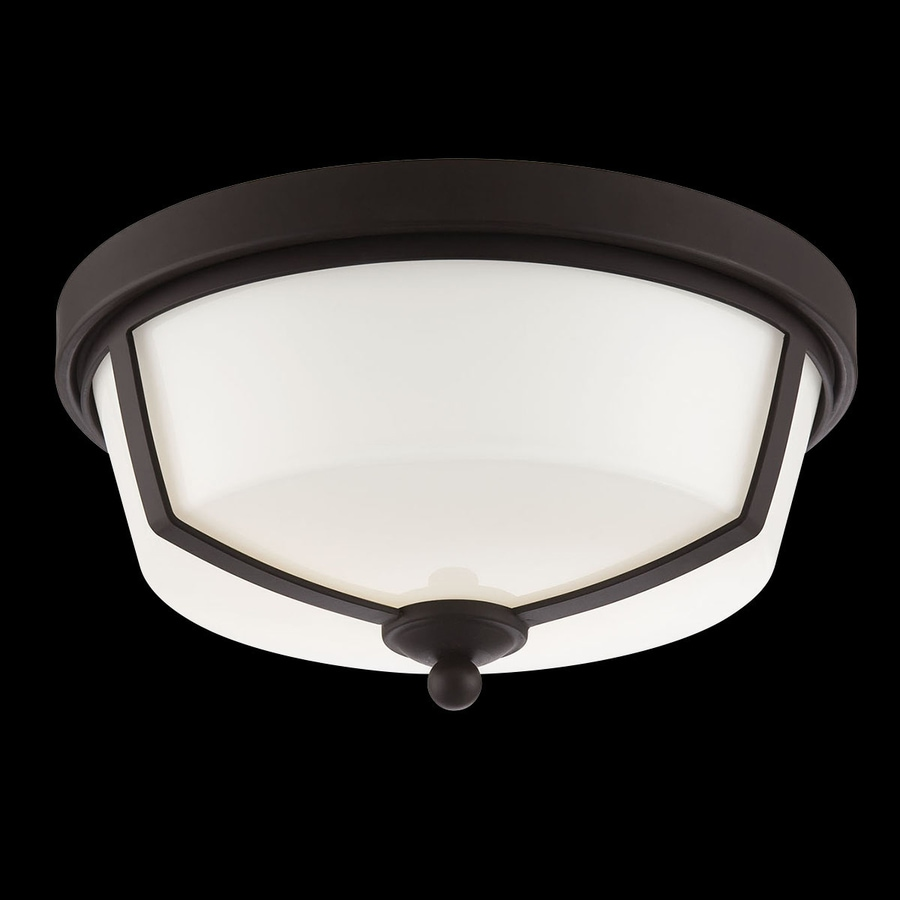 Eurofase Kate 12-in W Bronze LED Ceiling Flush Mount Light