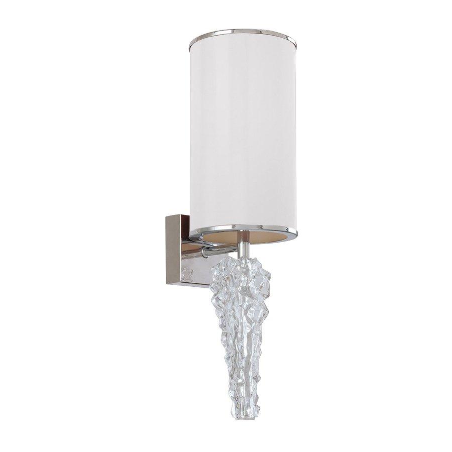 Eurofase Luxuria 6-in W 1-Light White Arm Wall Sconce