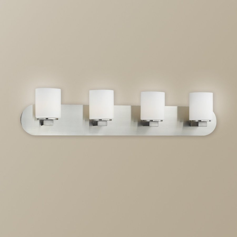 Eurofase 4-Light Evry Chrome Standard Bathroom Vanity Light