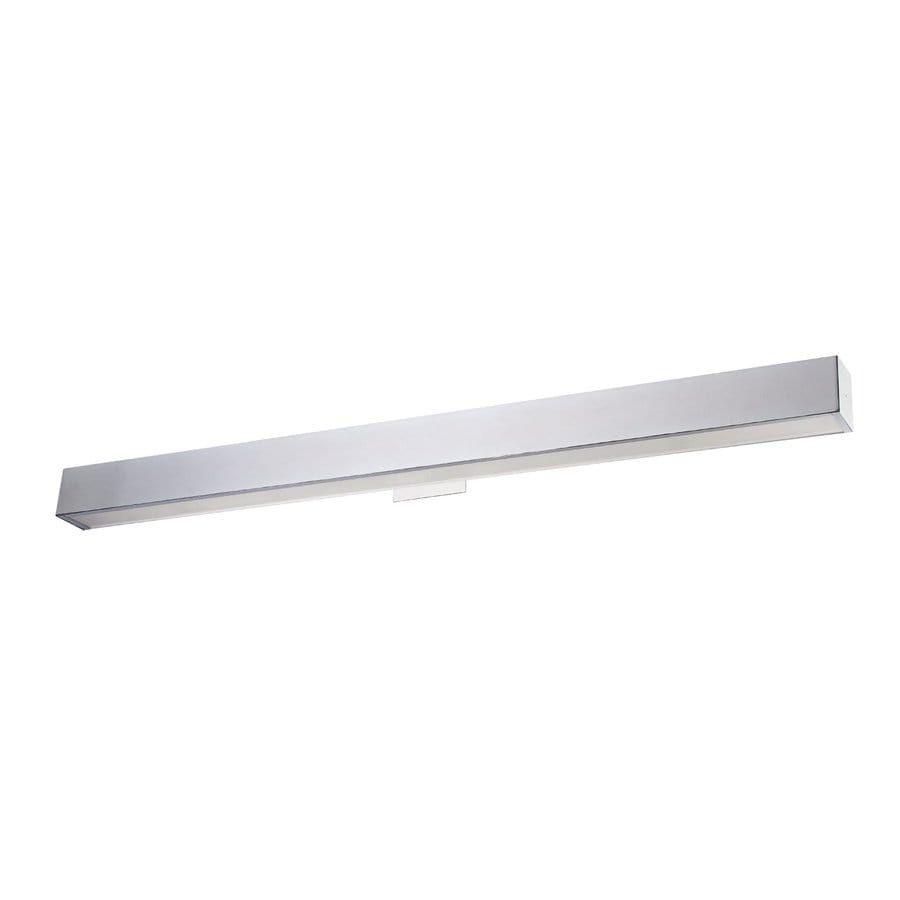 Eurofase Anello 48.75-in W 1-Light Chrome Arm Hardwired Wall Sconce