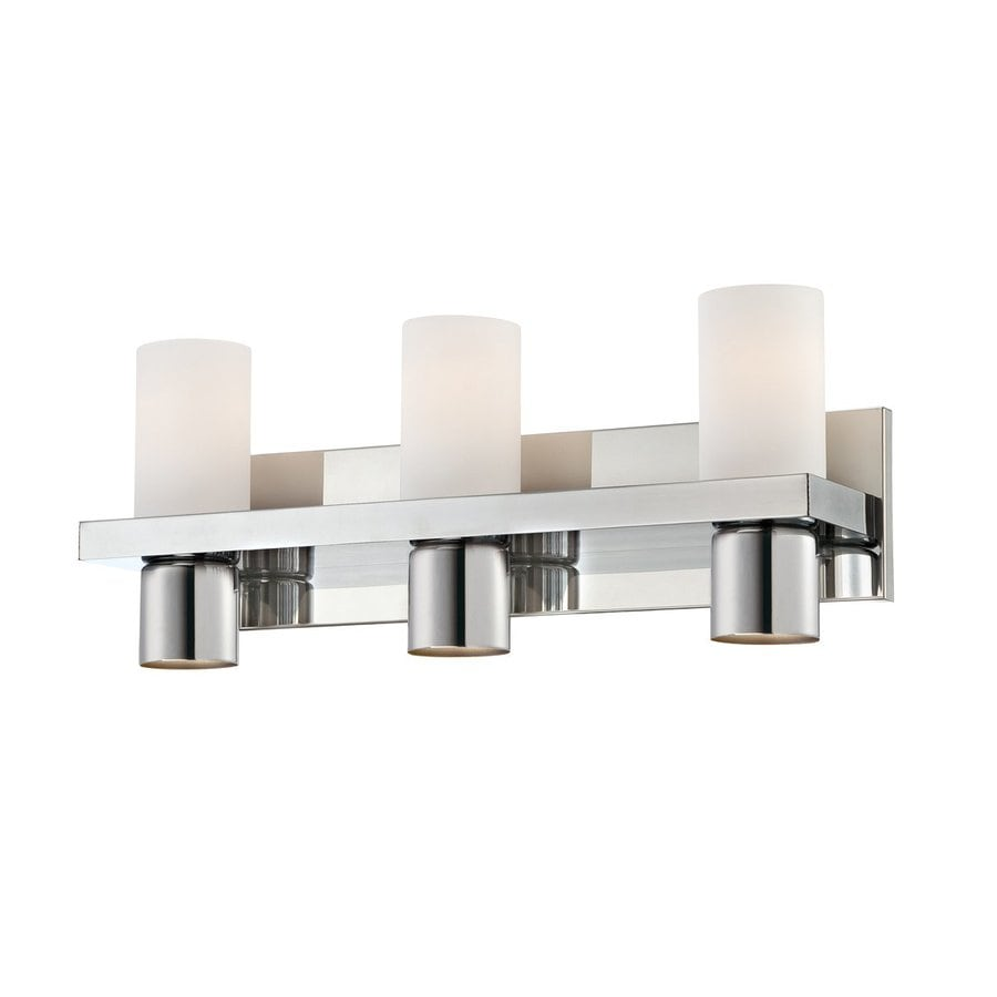 Shop eurofase 6 light pillar chrome bathroom vanity light for 6 light bathroom vanity light