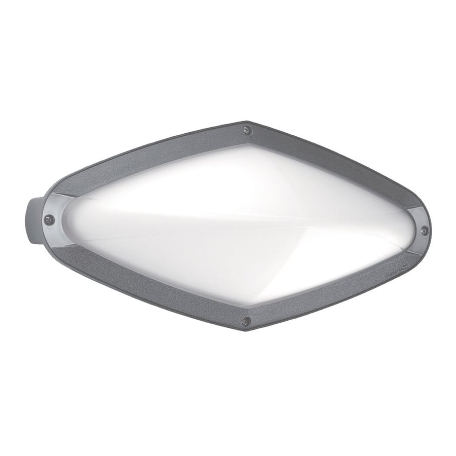 Eurofase Diva 7.12-in H Grey Outdoor Wall Light