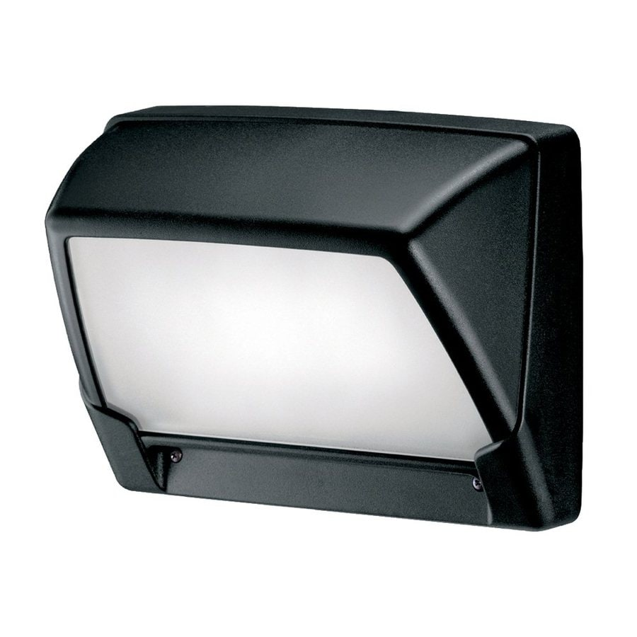 Eurofase Step 6.12-in H Black Outdoor Wall Light