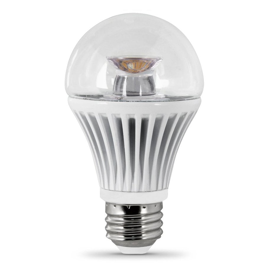 Feit Electric 40w Equivalent Soft White A19 Clear Filament: Shop Feit Electric 8-Watt (40W Equivalent) 3000K A19
