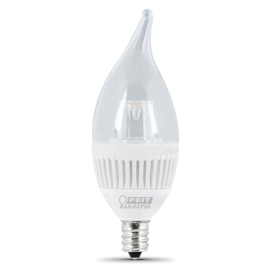 Feit Electric Performance LED 4.8-Watt (40W Equivalent) 3000K Candelabra Base (E-12) Dimmable Soft White Indoor LED Bulb