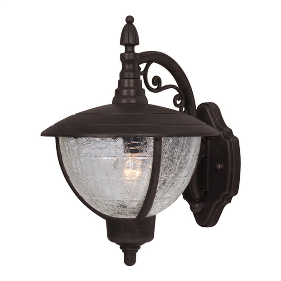 Special Lite Vista 12.5-in H Black Outdoor Wall Light