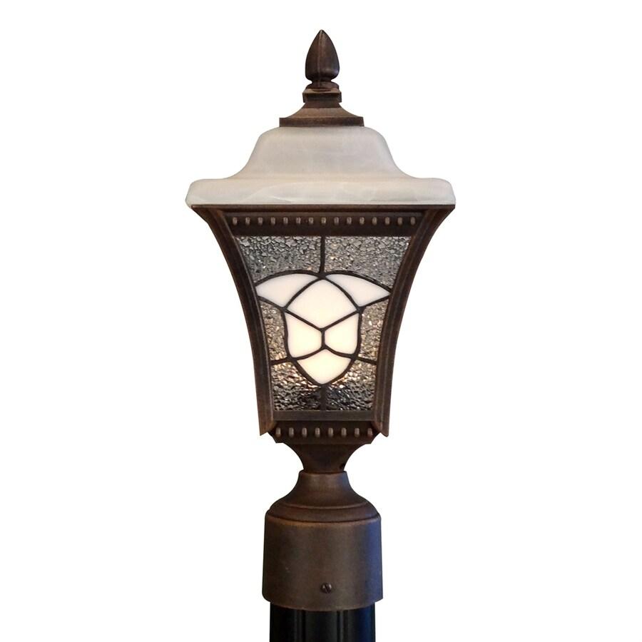 Special Lite Abington 16.75-in H Copper Post Light