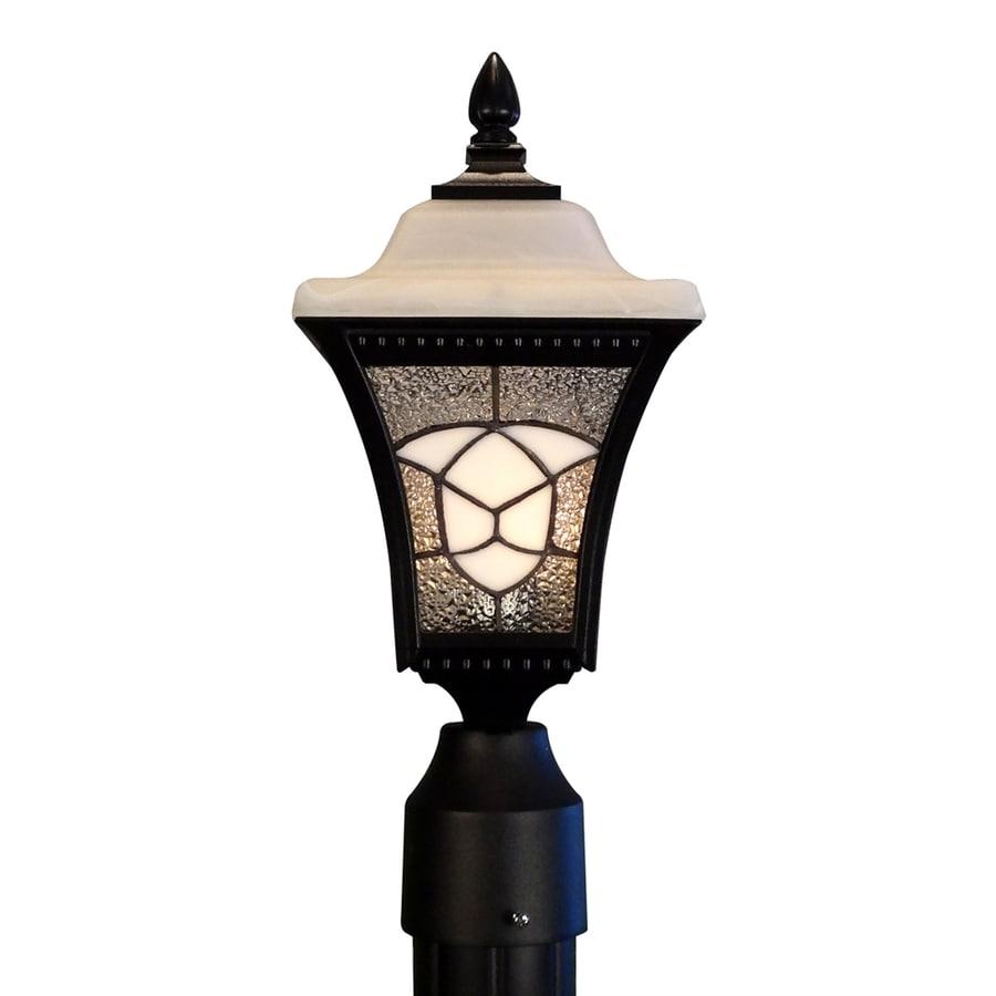Special Lite Abington 20-in H Black Post Light