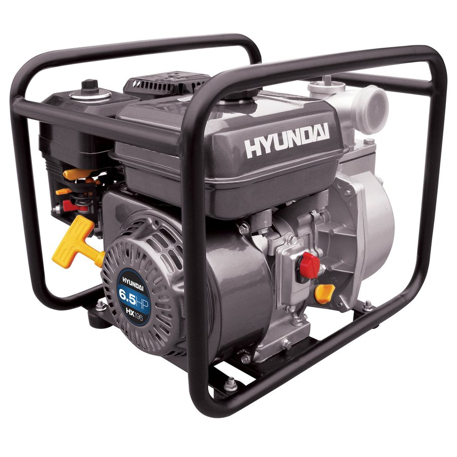 Hyundai Power Equipment 5.5-HP Cast Iron Gas-Powered Utility Pump