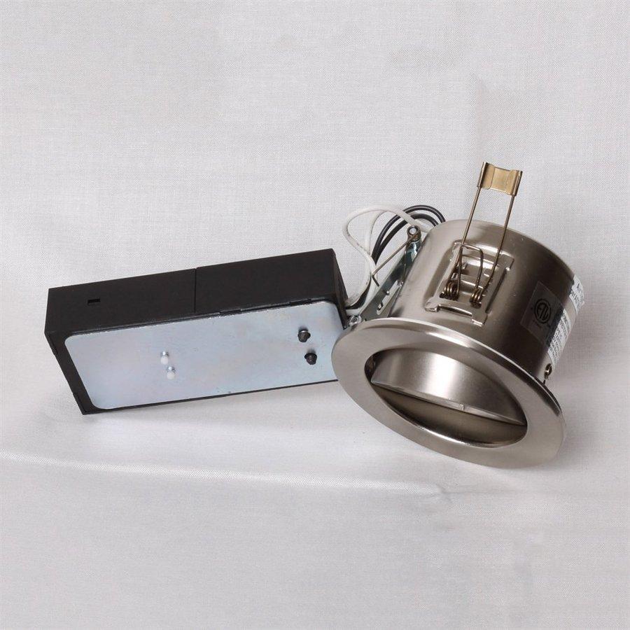 Twice Bright Lighting Brushed Nickel Standard Remodel Recessed Light Kit