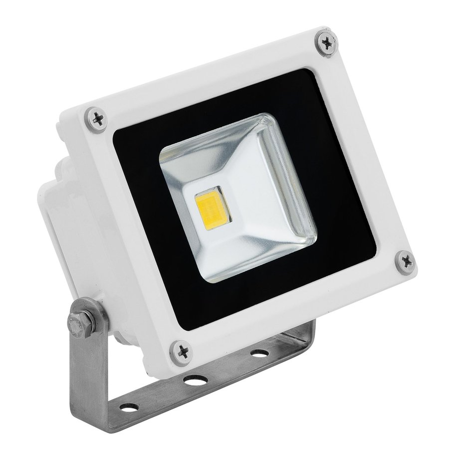 E-LED Lighting 3.38-in 1-Head Led White Switch-Controlled Flood Light