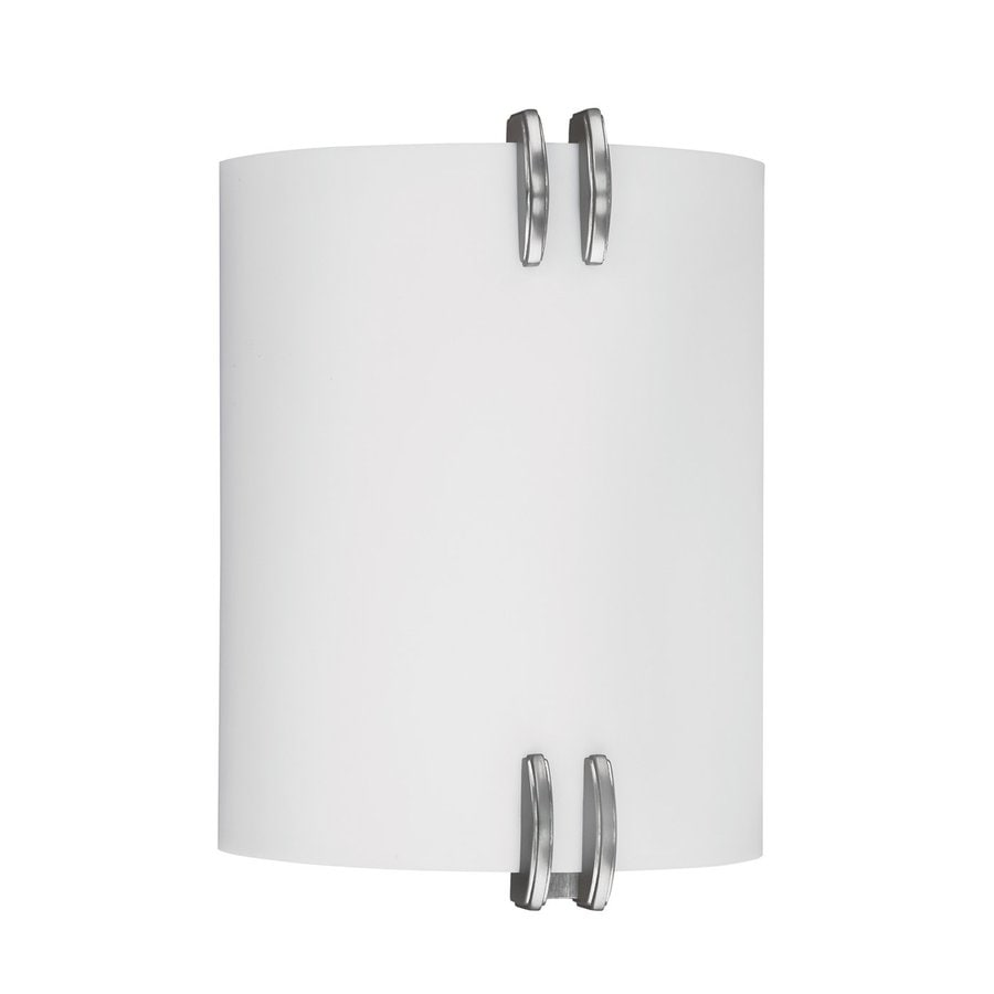 AFX Century 10.125-in H Nickel Outdoor Wall Light