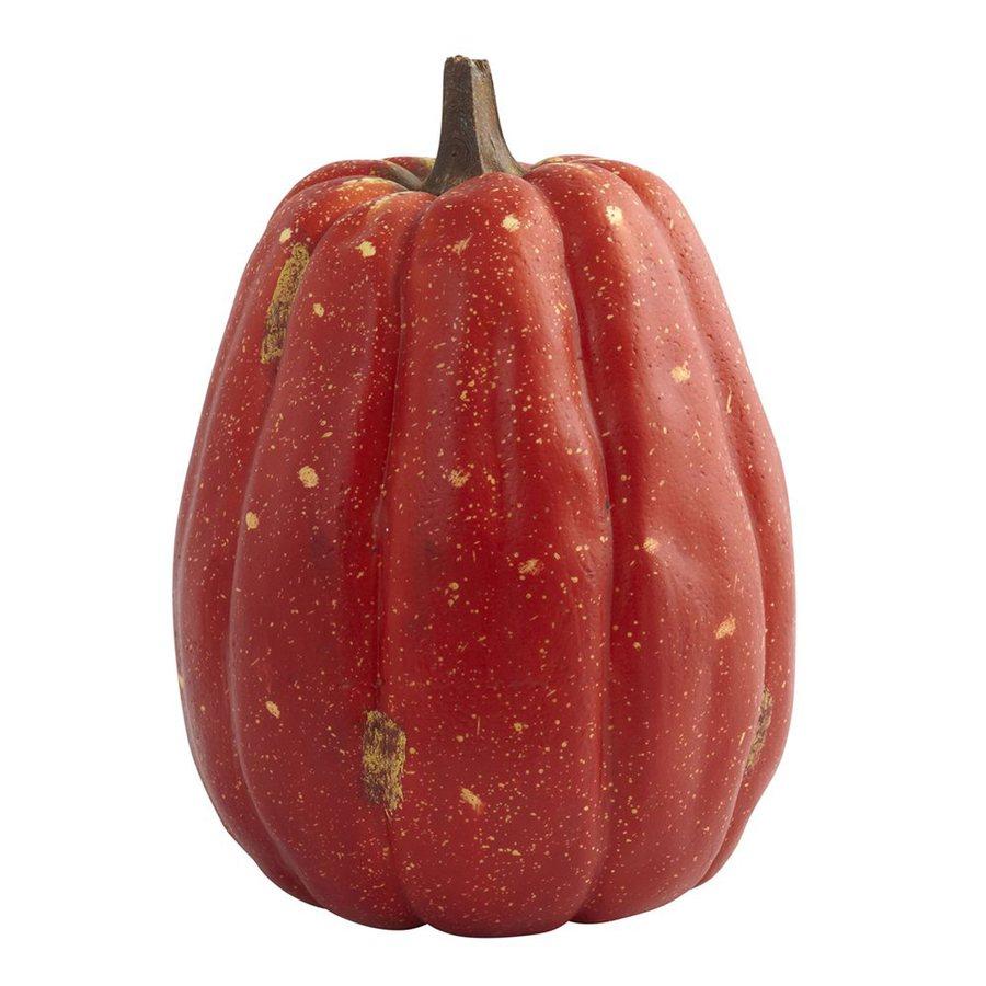 Nearly Natural Harvest Tabletop Tall Pumpkin Sculpture