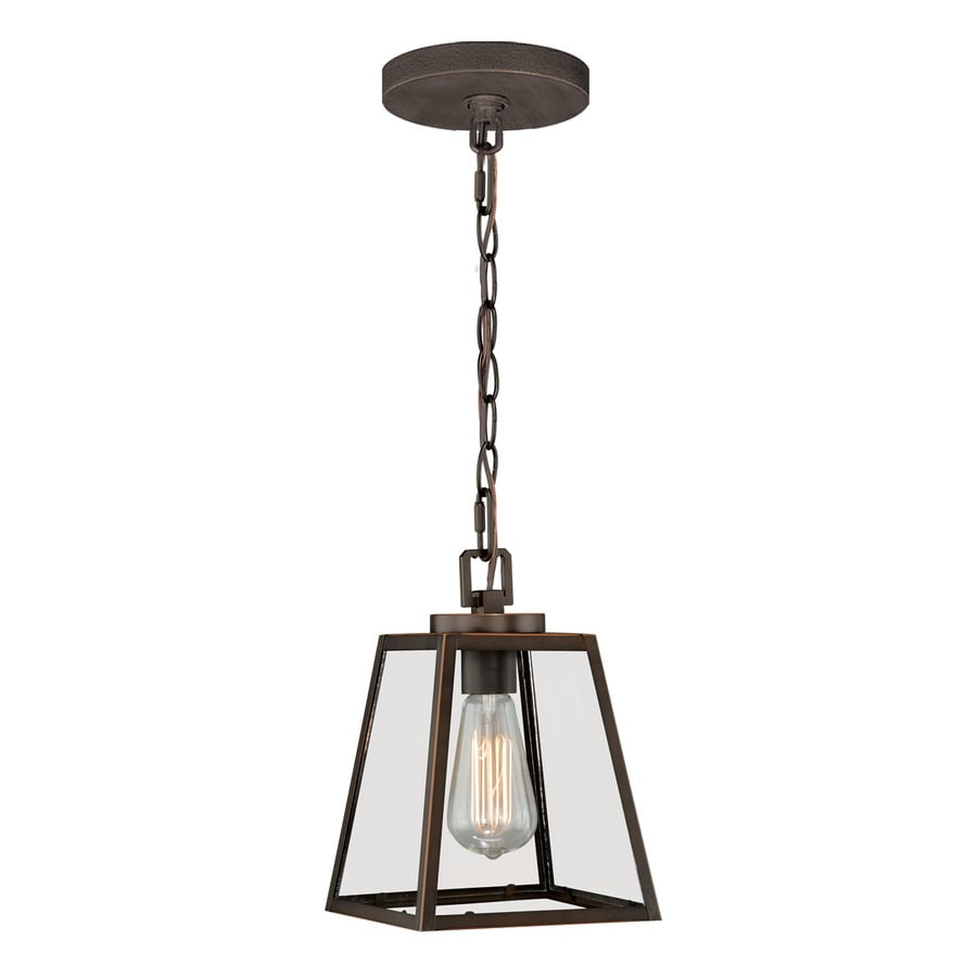 Shop Cascadia 7 In Burnished Bronze Industrial Mini Clear