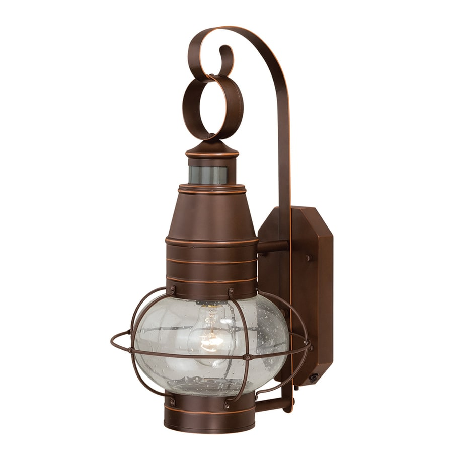 Cascadia Chatham 19.37-in H Burnished Bronze Outdoor Wall Light
