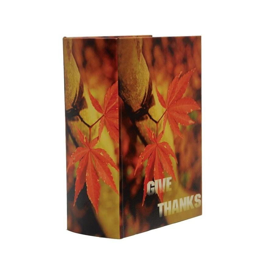 Fantastic Craft Fall Book Decorative Box Indoor Thanksgiving Decoration