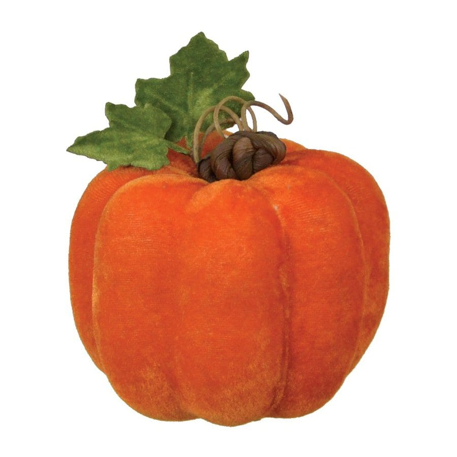 Fantastic Craft Foam Tabletop Velvet Pumpkin