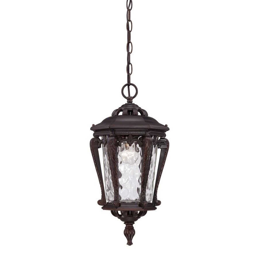 Acclaim Lighting Stratford 19-in Architectural Bronze Outdoor Pendant Light