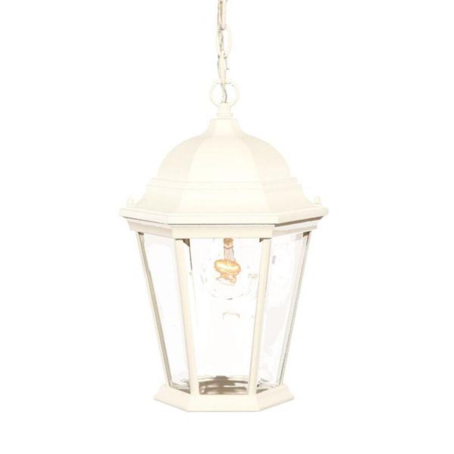 Acclaim Lighting Richmond 14-in Textured White Outdoor Pendant Light