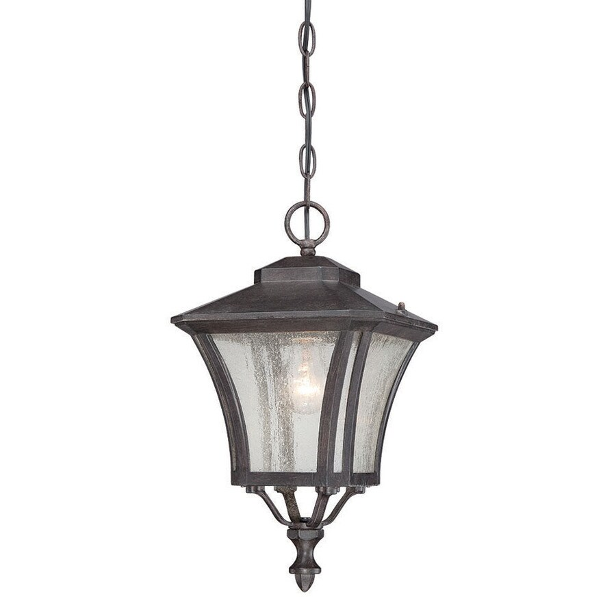 Acclaim Lighting Tuscan 16.5-in Black Coral Outdoor Pendant Light