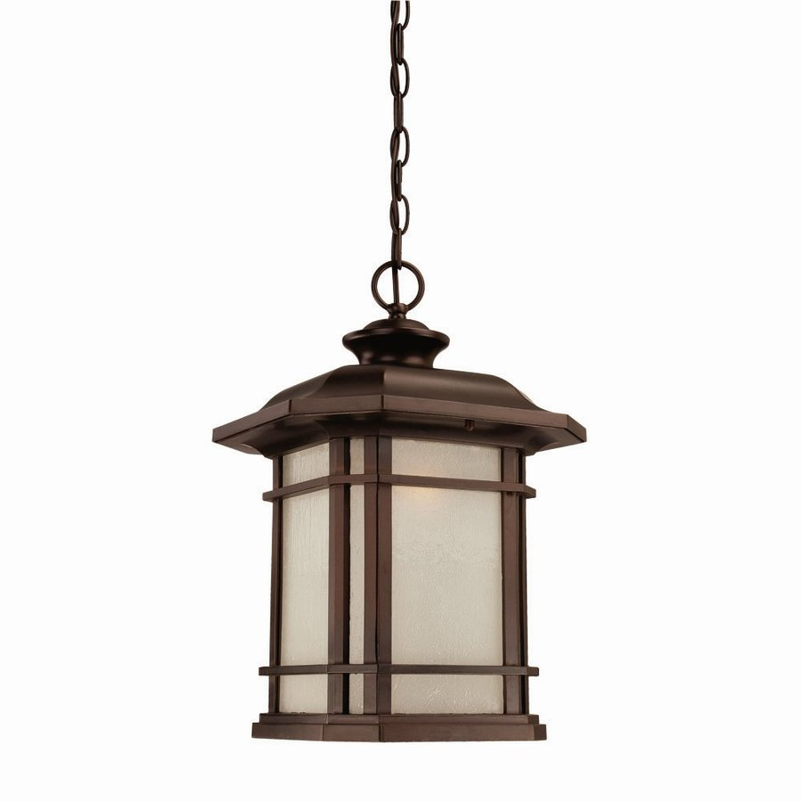 Acclaim Lighting Somerset 17.25-in Architectural Bronze Outdoor Pendant Light