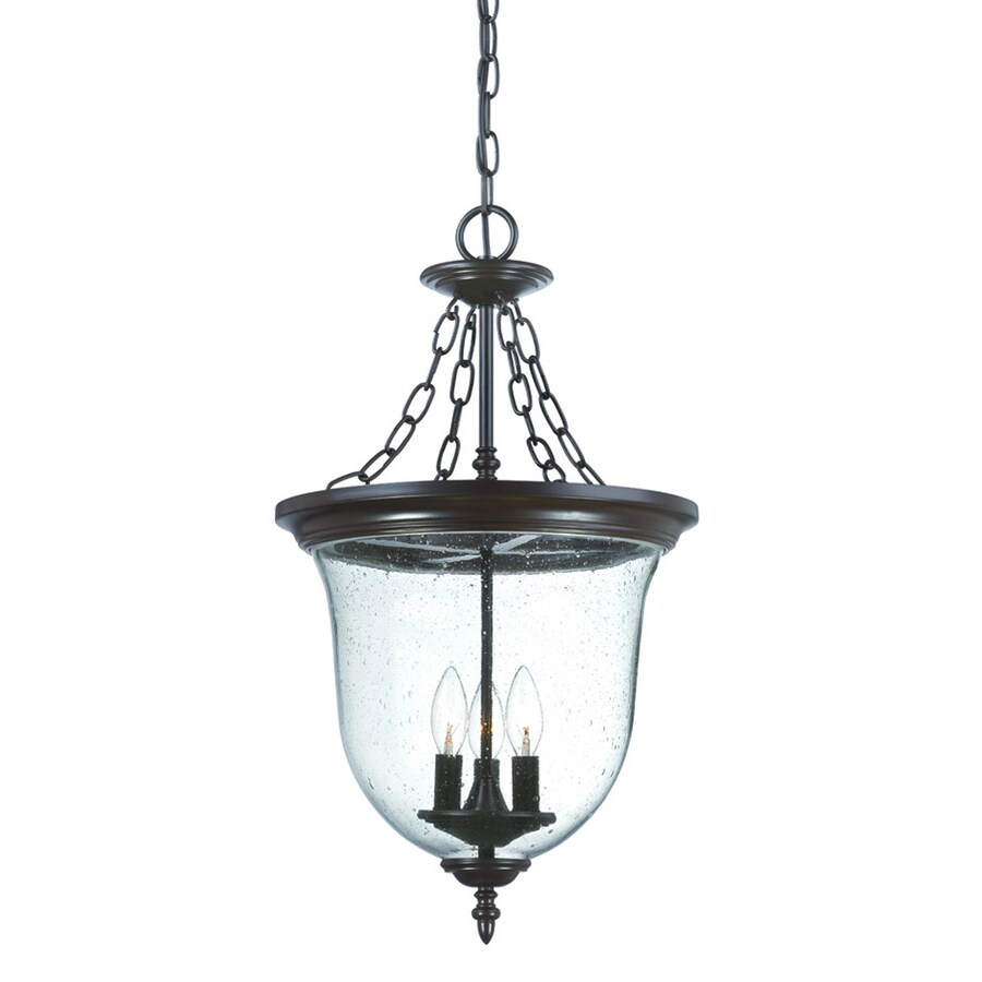 Acclaim Lighting Belle 25.375-in Architectural Bronze Outdoor Pendant Light