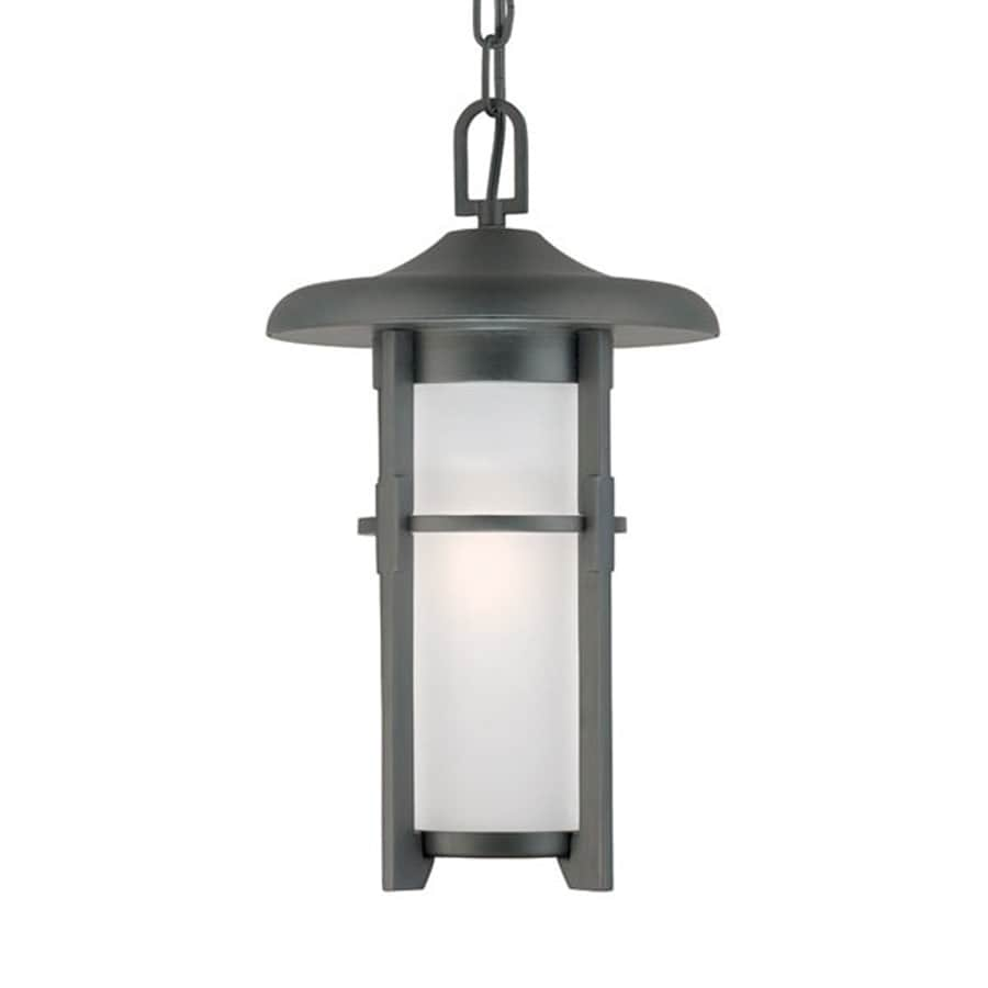 Acclaim Lighting Luma 15.375-in Matte Black Outdoor Pendant Light
