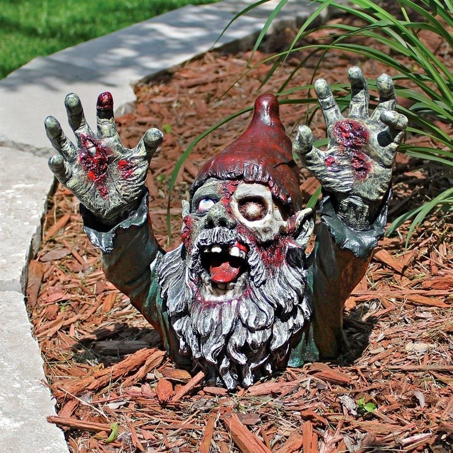 Shop design toscano zombie gnombie freestanding zombie for Decoration zombie